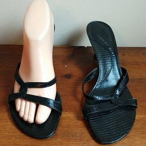 Gianni Bini Kitten Heel Sandals Size 9